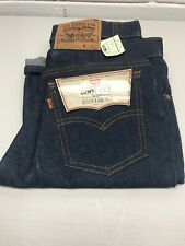 NEW Vintage LEVIS 20517-0217 Saddleman Boot Orange Tab Denim Blue Jean 30x30 NWT