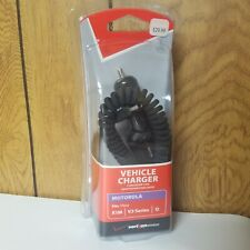 New Verizon Wireless Motminivpc Motorola Usb Vehicle Charger Phone Para V3 Q Ve