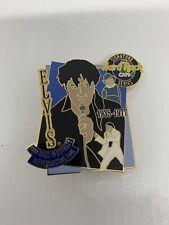 More details for hard rock cafe elvis presley enamel pin badge 2002 signature series rags to roya