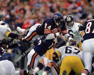 Walter Payton Touchdown Leap Chicago Bears 8x10 Photo