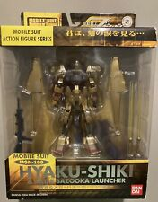 Bandai Mobile Suit Gundam Fighter Hyaku Shiki + Mega Bazooka Action Figure MSIA