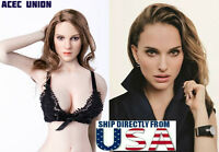 "1/6 Natalie Portman Head Sculpt KIMI KT008 For 12"" Hot Toys PHICEN Figure U.S.A."