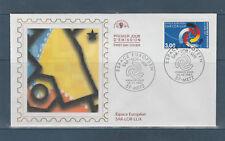 enveloppe  1er jour  espace Européen SAR LOR LUX  57 Metz  1997