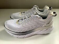 NEW Hoka One One Clifton 4 Women's Running Shoes - White - Sz 8