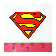 Skateboard Car Window Bumper Pvc Laptop Clear Decal Sticker - Superman Red Logo