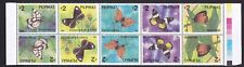 Philippines 1993 Insects BUTTERFLY 5 values in Tete-Beche Pair Block/10 mint NH