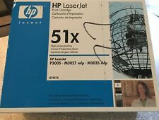 HP Laserjet 51x (5Q7551X)  High Yield BLACK Toner: LJ P3005 - M3027 & M3035 mfp