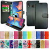 Case For Samsung Galaxy A20E 2019 (SM-A202F) Genuine Leather Wallet Phone Cover