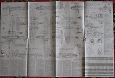 Construction Scheme Air Plane DB-3 Craft Jet Flight Booklet Force Fly Bomber War