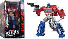 Transformers ~ OPTIMUS PRIME FIGURE ~ Voyager Class ~ Siege: War For Cybertron
