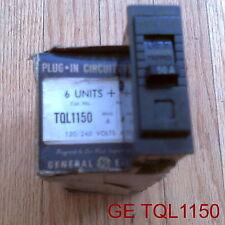 GE TQL1150 CIRCUIT BREAKER 1 POLE 120/240 VOLTS 50 AMP (NIB)