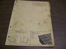 12194 John Deere Parts Catalog Pc-435 Cutter Rotary Gyramor series P-107 P 107