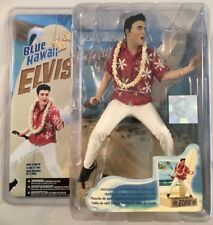 Elvis Presley 1961 Blue Hawaii McFarlane Figure Guitar Surfboard Backdrop 2006