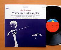SDBR 3252 The Genius Of Furtwangler Brahms Strauss Mozart Everest Stereo LP