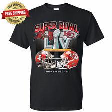 Super Bowl T-Shirt Tampa Bay Buccaneers vs Kansas City Chiefs LV 55