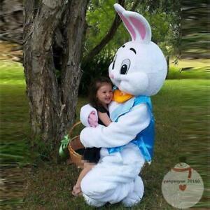 Newly Cute Easter NEW Mascot Costume Rabbit Cartoon Fancy Dress Adult Size #2