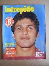 INTREPIDO n°1 1978 Walter Novellino Paolo Villaggio Ferrari T3  [G551]