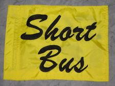 Custom SHORT BUS Safety Flag 4 ATV UTV dirtbike Jeep Dune  Whip Pole
