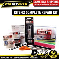 KITEFIX COMPLETE KITESURF KITEBOARD TEAR REPAIR KIT AID LEAKING VALVES BLADDERS
