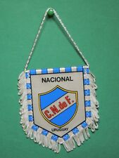 Fanion Foot Nacional CN de F Uruguay team équipe club football wimpel Pennant