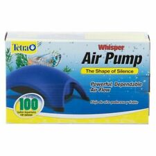 Tetra Whisper Air Pump - 100 gallon, Blue (77855) Fish Tank Aquarium