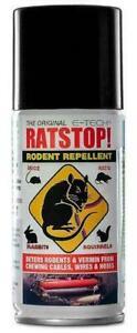 RATSTOP Rat Rabbit Mice Squirrel Rodent Repeller Repellent Deterrent Spray 150ml