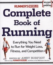 "NEW BOOK Runner's World"" Complete Book of Running by Amby Burfoot"