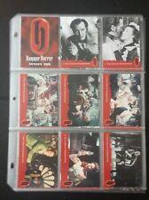 Hammer Horror Series 2, trading card set.54 cards.Peter Cushing Christopher Lee