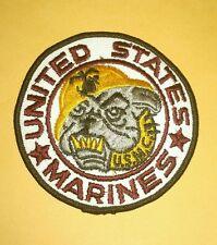 United States Marines Bulldog Patch Motorcycle Jacket Vest