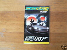 SCALEXTRIC CATALOGUE ISSUE 2008 JAMES BOND 007 ASTON MARTIN DBS & CHASE CAR