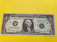 1977 US DOLLAR BILL OVERPRINT ERROR