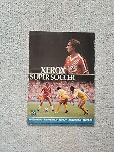 Xerox Super Soccer '80 (Washington Diplomats vs. JP) Program Johan Cruijff