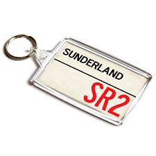 Personalised Sunderland Football Soccer T-Shirt Key Ring