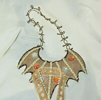 VICTORIAN WINGS COSTUME / Turn Your Troll into an Ornament Gold doll Custom