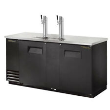 "True Tdd-3 Direct Draw Beer Dispenser, 3 Keg , 69""W, Black"