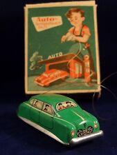 Ancien jouet voiture tôle mécanique télécommandé HUKI ? DISTLER ? 1950 W.Germany
