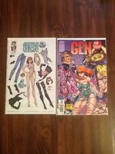 Gen 13 #1 Paper Dolls Variant VF- & 3D VF/NM ( J Scott Campbell Covers).