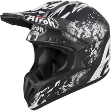 CASCO DA MOTO CROSS ENDURO QUAD AIROH SWITCH BACKBONE OPACO 2019 TAGLIA M
