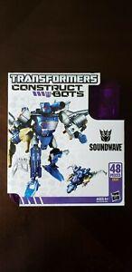Transformers Construct Bots Soundwave MISB