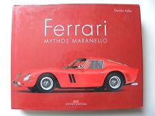 Livre automobile :  FERRARI MYTHOS MARANELLO en allemand