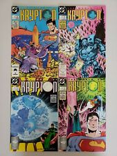 The World of Krypton 1 2 3 4 Complete Set Series Run Lot 1-4 Superman VF/NM