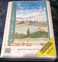 A Room with a View E M Forster read by Joanna David 6x audio Cassette