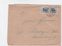 Germany Soviet Zone 1948 Reichenbach to Meiningen stamps cover  R20740