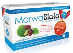 Morwa Biała Plus (Morwa biala) - White Mulberry - kora cynamona, chrom,