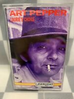 Laurie's Choice by Art Pepper (Cassette, Aug-1992, Laserlight)