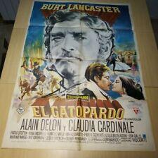 "The Leopard (20th Century Fox, 1963).1 SH Spanish  (27.5"" X 39.5"") aprox"