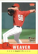 2006 Fleer Tradition #25 Jered Weaver RC Rookie Angels