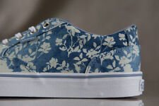 VANS WINSTON FLORAL INDIGO shoes for women, NEW & AUTHENTIC, US size 10