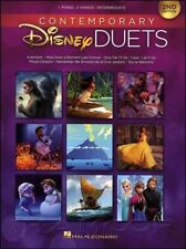 Contemporary Disney Duets for Piano 2nd Edition Music Book SAME DAY DISPATCH