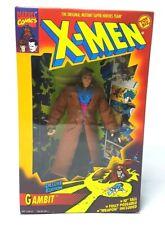 Vintage ☆ GAMBIT X-MEN DELUXE EDITION Marvel Action Figure Boxed 10' 90s Toybiz
